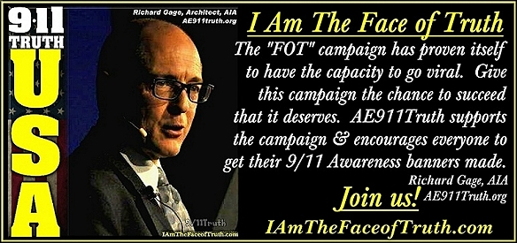 """The """"I Am The Face of Truth"""" campaign has proven itself to have the capacity to go viral. - Richard Gage"""