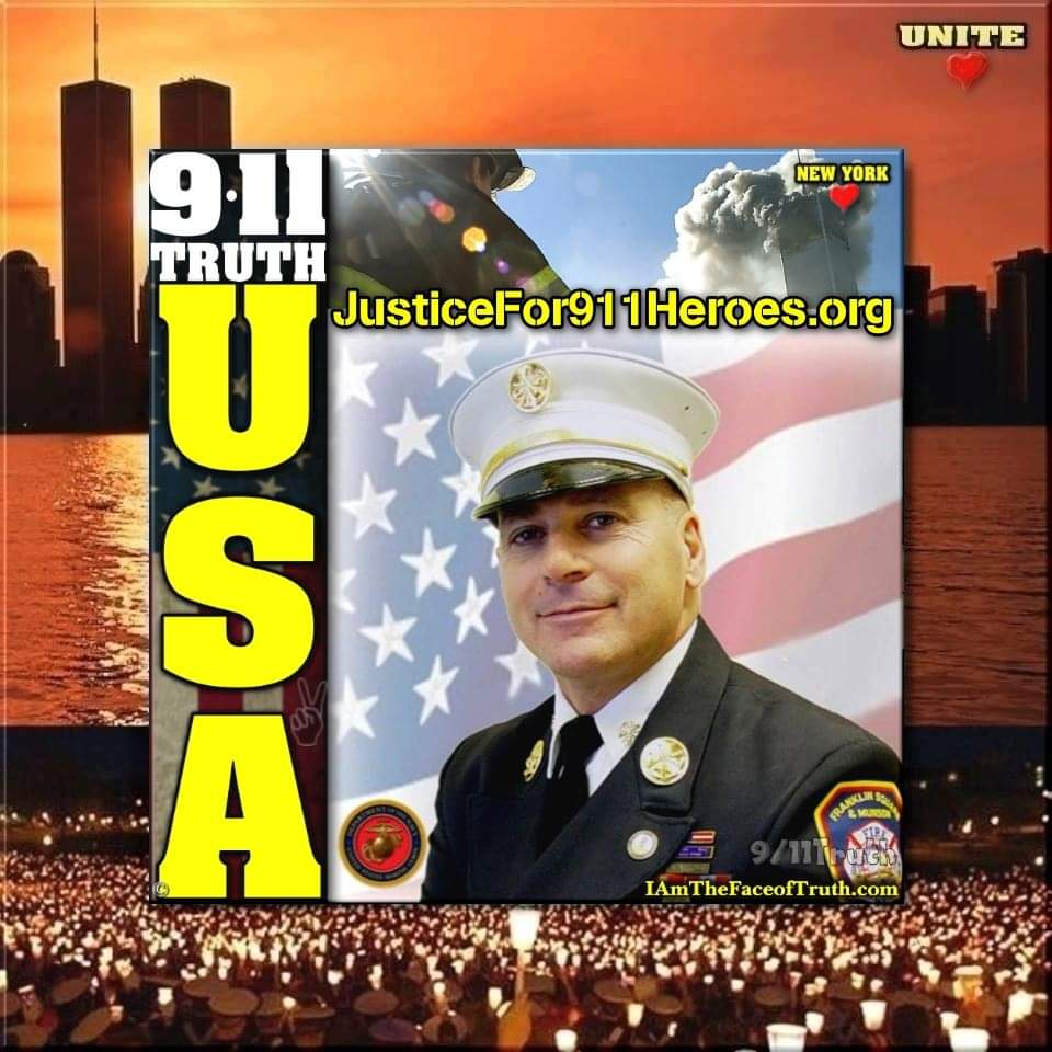 Fire Commissioner Christopher Gioia for 9/11 Truth