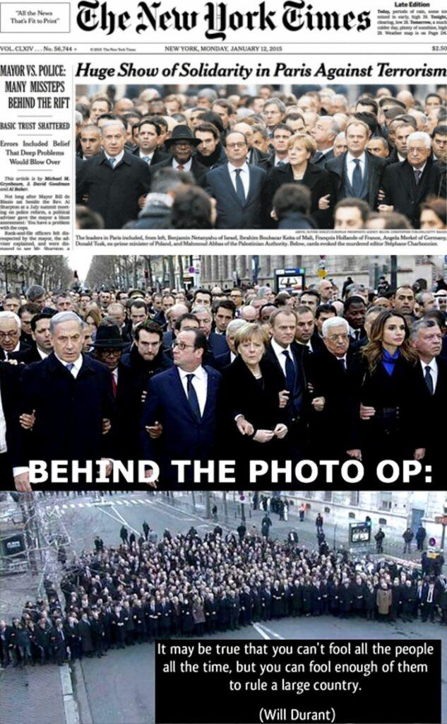 Charlie Hedo - Paris March Deceptive Photo